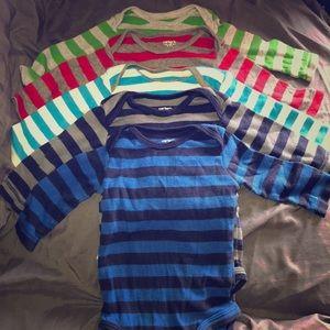 Set of 5 Carter's onesies